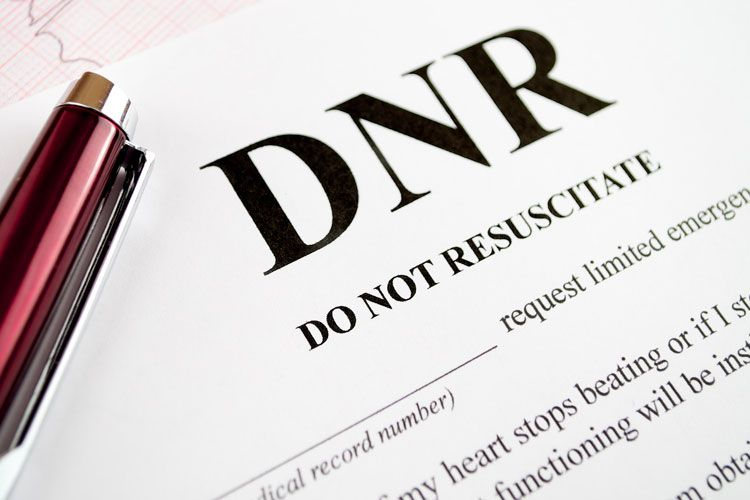 PLACING A PATIENT UNDER DNR (DO NOT RESUSCITATE)